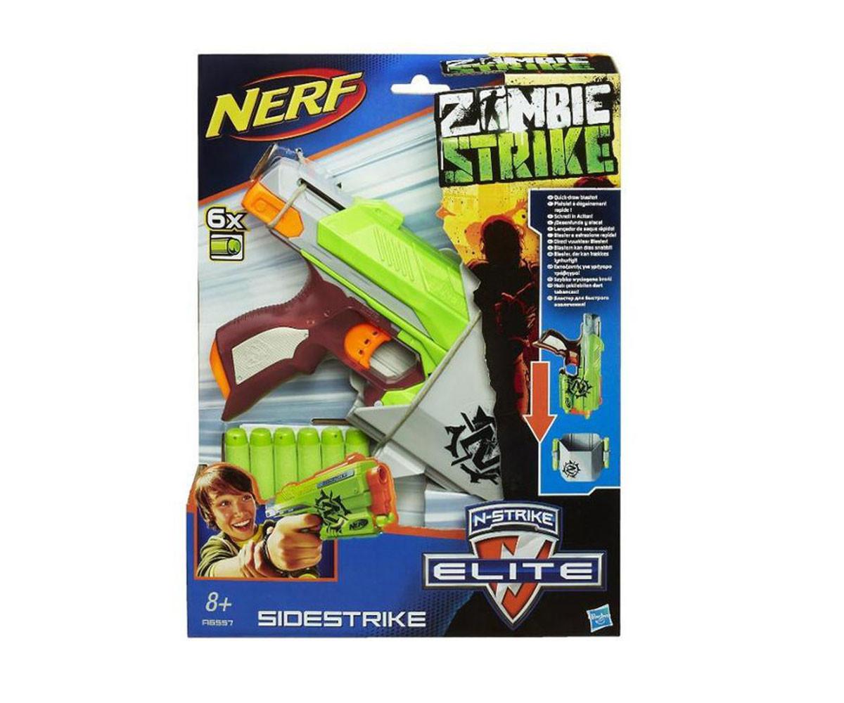 Детски пистолет Нърф - Зомби страйк пистолет Hasbro Nerf A6557