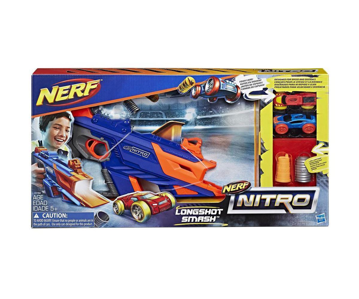 Детска нитро изстрелвачка с дълга цев Hasbro Nerf C0784