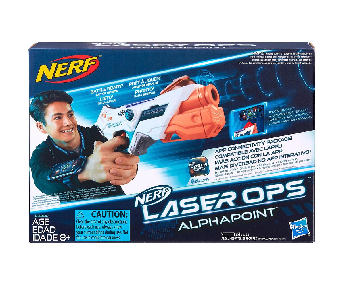 Детски пистолет Лазерен бластер Алфапоинт Hasbro Nerf E2280