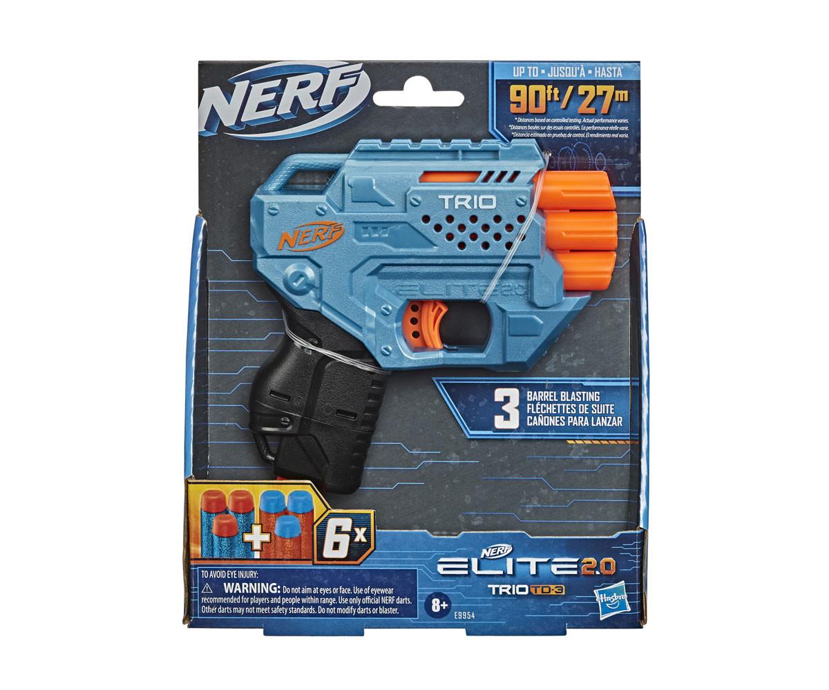 Детски пистолет Nerf Elite Trio 2.0 TD3