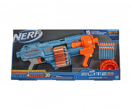 Детски пистолет Nerf Elite 2.0 Shockwave RD-15 Hasbro E9527