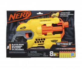 Детски пистолет Nerf Alpha Strike Hammerstorm