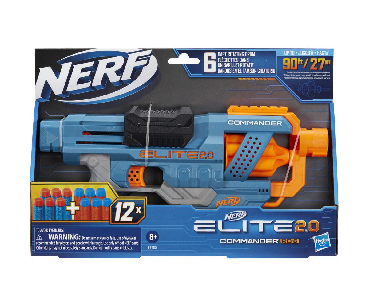 Детски пистолет Nerf Elite 2.0 Commander RD-6