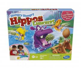 Забавна настолна игра за деца- Гладни хипопотами Hasbro E9707