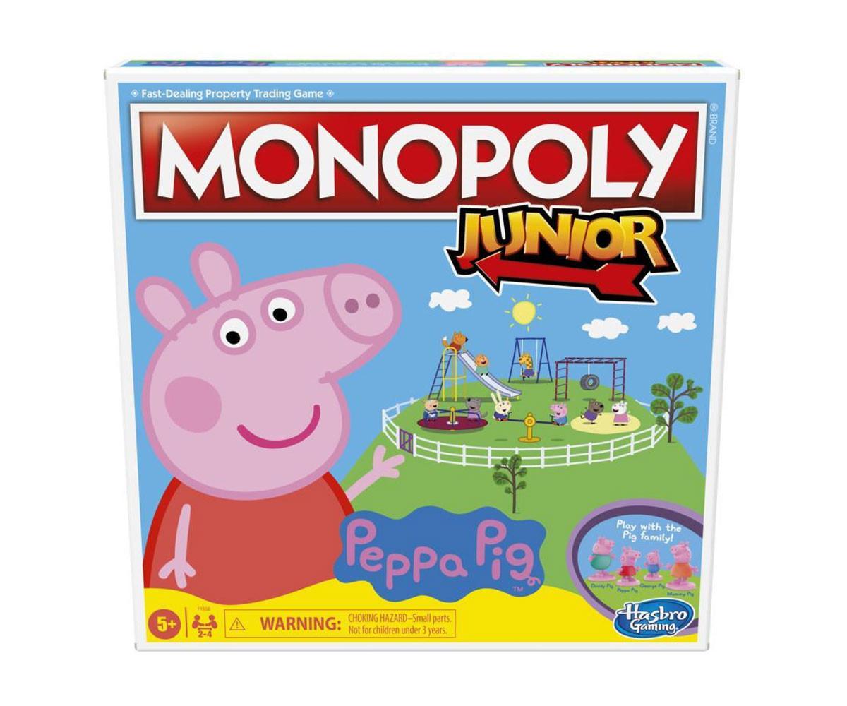 Семейна игра Монополи Джуниър - Peppa Pig Hasbro