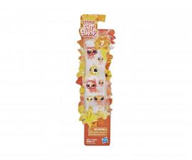 Детска играчка - комплект Littlest Pet Shop животинчета с цветя