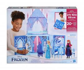 Играчки за момичета кукли Frozen 2 - Ледения дворец на Елза, с дръжка за носене F1819