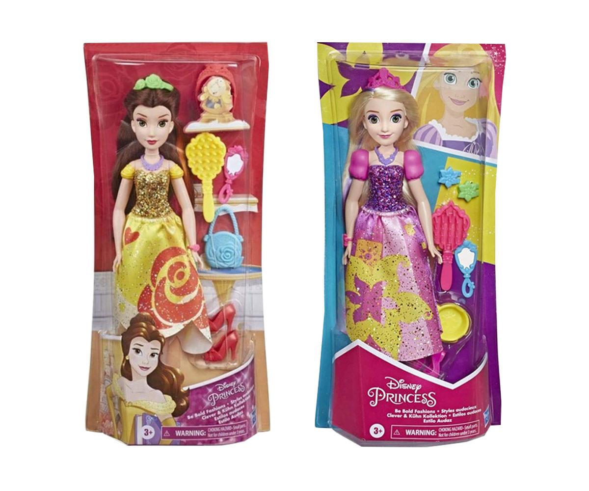 Дисни принцеси с аскесоари E3048