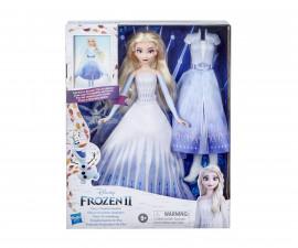 Замръзналото кралство - Елза с 2 тоалета и 2 прически Hasbro E9420