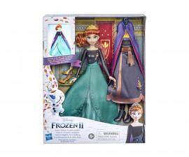 Замръзналото кралство - Анна с 2 тоалета и 2 прически Hasbro E9419