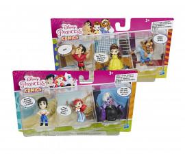 Детски комплект за игра от 3 кукли Disney Princess, асортимент