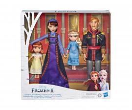 Детска играчка кукли филмови герои Disney E8042 Замръзналото кралстов 2 - Кралско семейство