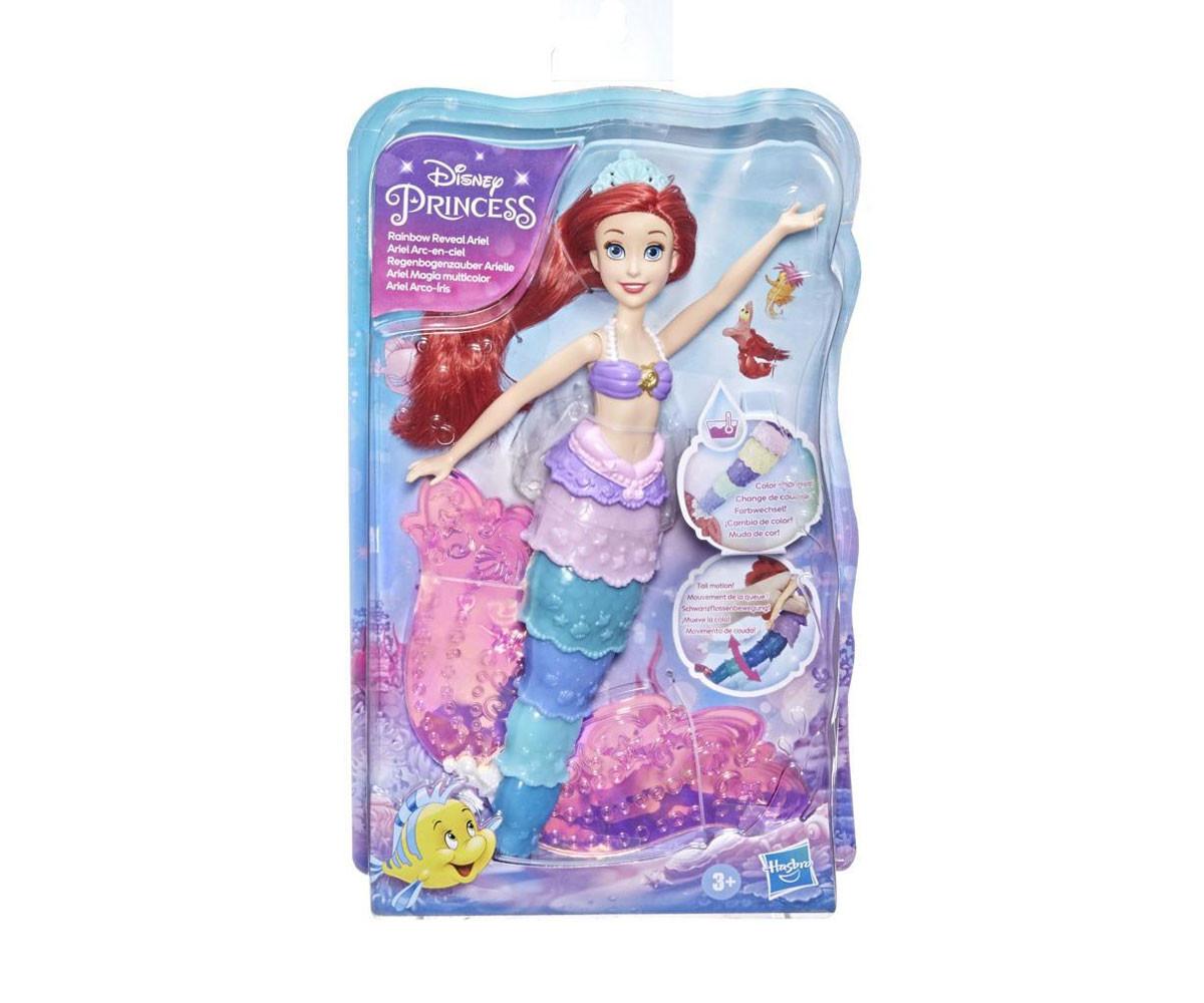 Играчки за момичета Disney Princess - Ариел с променящи се цветове Hasbro F0399