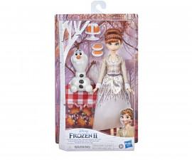 Играчки за момичета кукли Frozen 2 - Анна и Олаф на есенен пикник F1583