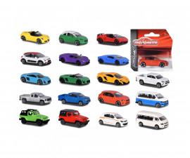 Детска играчка градски автомобили Мажорет, 18 вида, 7см