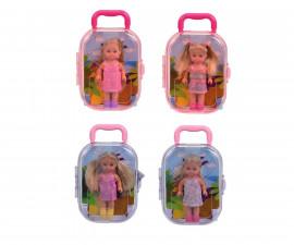 Кукла Еви Лав - Еви в куфарче, 12 см.