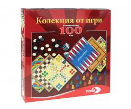 Детски комплект колекция от 100 игри Noris