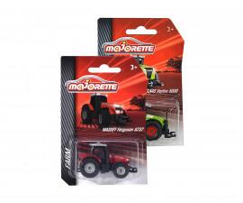 Фермерски трактор Majorette, 7см, асортимент