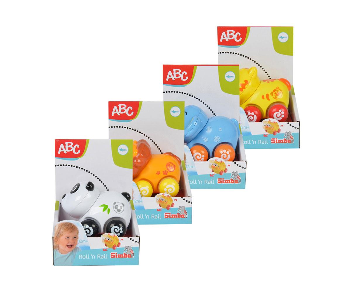 Забавни колички с животни Simba ABC, асортимент