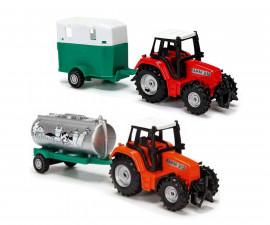 Трактор с ремарке Дики, асортимент, 18 см
