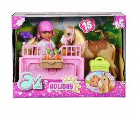 Детска играчка - Еви Лав Ваканция - Кукла Еви с кемпер