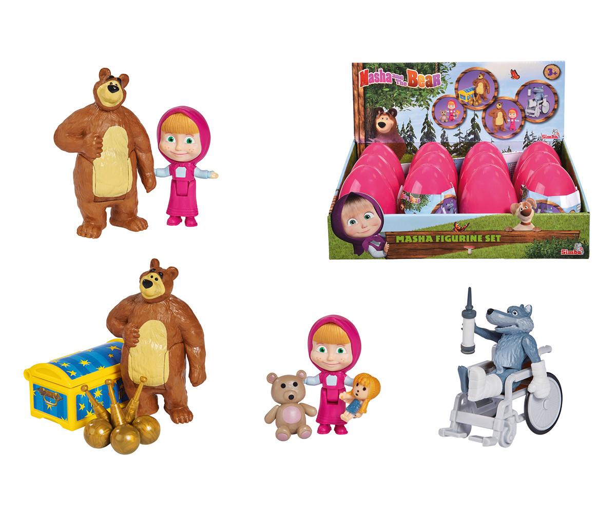 Маша и мечока - Фигура Маша с аксесоари, Simba Toys