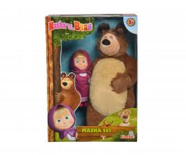 Маша и мечока - Кукла Маша и плюшен мечок, Simba Toys