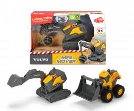 Строителни машини Dickie Toys, Volvo MIni, асортимент