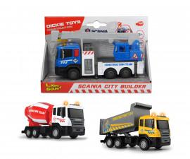 Строителни машини Dickie Toys, City Builder, асортимент