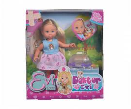 Кукла Evi Love, Simba Toys 105733485 - Еви ветеринарен доктор