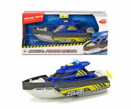 Полицейска яхта със звук и светлина, Dickie Toys 203716010038, Dickie Toys 203716010