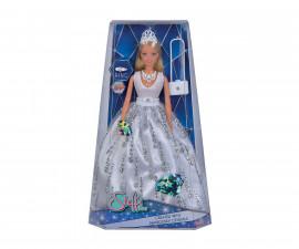 Кукла Steffi Love, Simba Toys 105733466 - С рокля с кристали Сваровски делукс