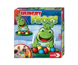 Детска забавна настолна игра - Гладни жабки, Simba Toys/Noris 606061859