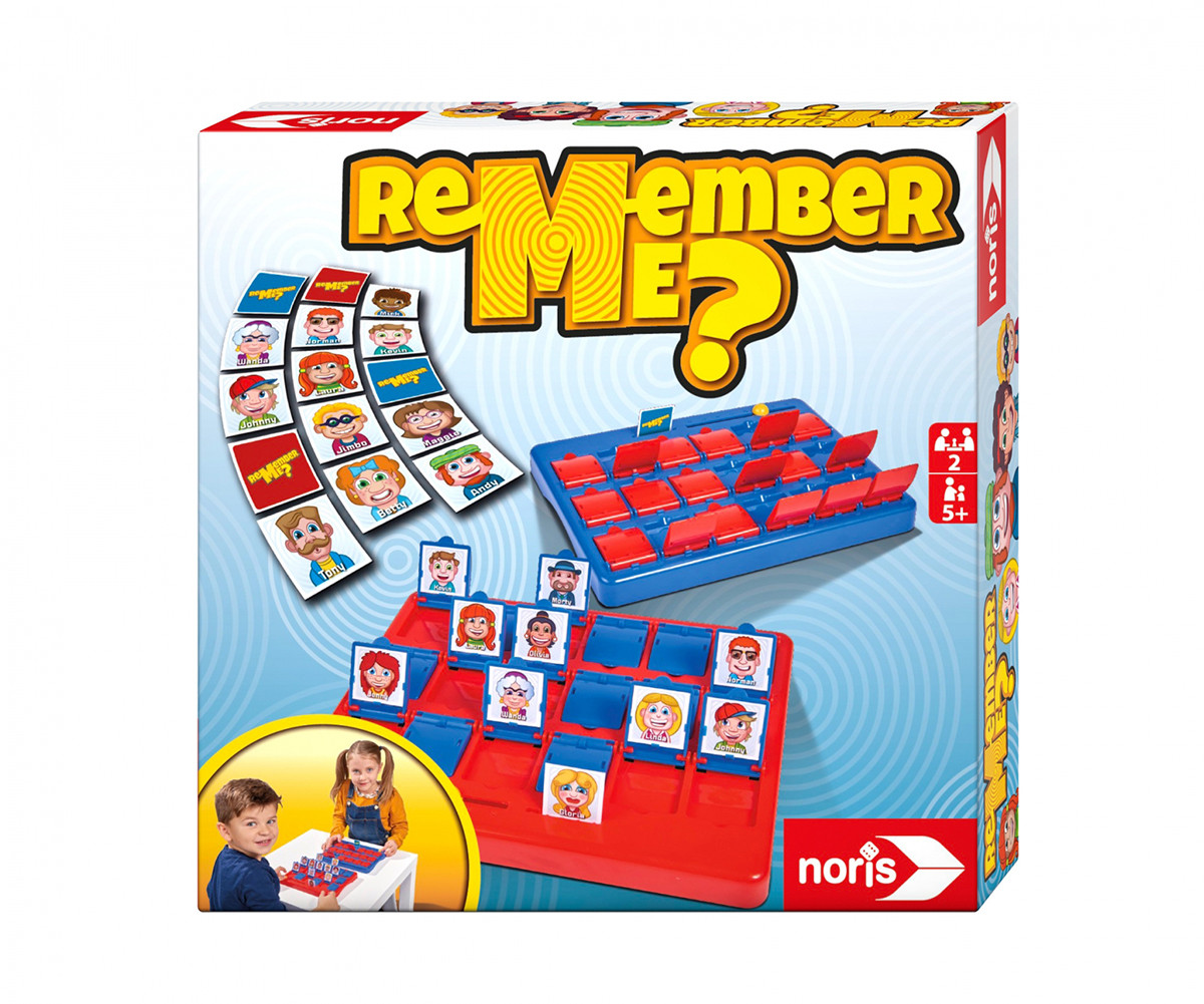 Детска забавна настолна игра - Познай кой е, Simba Toys/Noris 606064477
