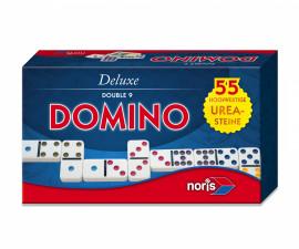 Детска забавна игра домино Deluxe Double 9, Simba Toys/Noris 606108003