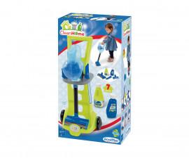 Детска количка за почистване с прахосмукачка, Ecoiffier 7600001761