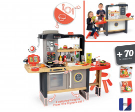 Детски комплект за игра - Ресторант с кухня Chef corner, Smoby 7600312303