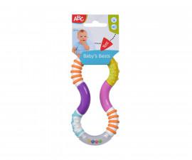 Гъвкава дрънкалка Simba ABC, 16 см