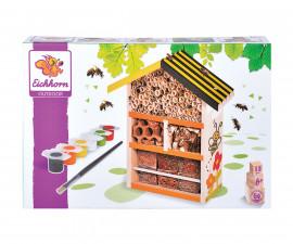 Къща за пчелички от дърво Eichhorn 100004584