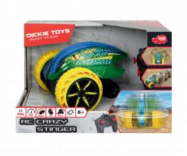 Детска радиоуправляема количка Дики, преобръщаща се кола