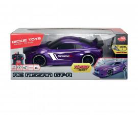 Детска радиоуправляема количка Dickie, Nissan GT-R, 1:16