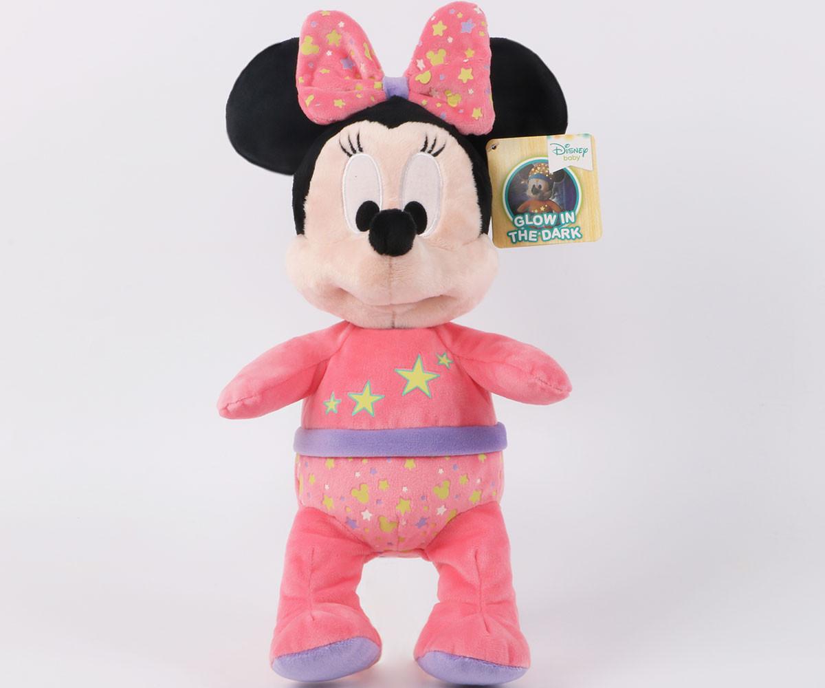 Плюшена играчка за деца от детско филмче на Disney Мини Маус свети в тъмното PDP1700841