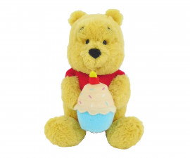Плюшена играчка за деца от детско филмче на Disney Мечо Пух с къпкейк, 17см PDP2001065