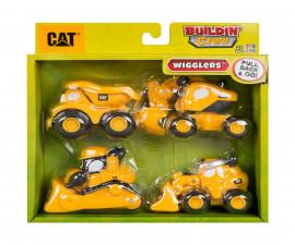 Детска забавна играчка - Той Стейт - Комплект 4 строителни машини
