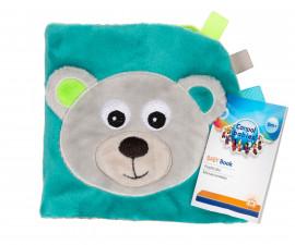 Мека книжка за бебета Canpol Bears 68/075_gry