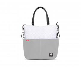чанта за бебешки принадлежности с термоизолатор Лорели Fashion, Light Grey