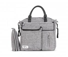 чанта за бебешки принадлежности с термоизолатор Лорели Practical, Light Grey