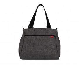 чанта за бебешки принадлежности с термоджоб Basic, Dark Grey