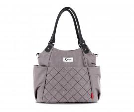 чанта за бебешки принадлежности с термоизолатор Лорели Tote, Light Grey