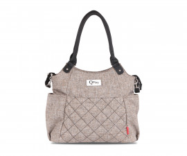 чанта за бебешки принадлежности с термоизолатор Лорели Tote, Camel